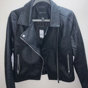 New look leather jacket brand new